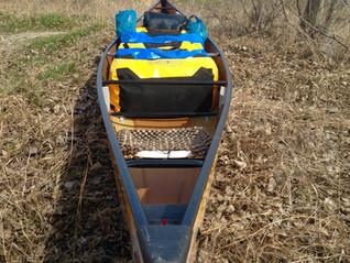 How we pack our canoe / Comment nous placer notre matériel dans notre canot