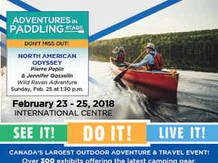Toronto Outdoor Adventure Show - February 23-25, 2018
