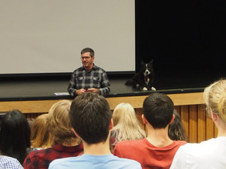 Presentation with Pointe-Levy high school students