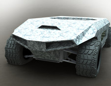 3D Cad - Robotic Armored Vehicle - Rogue Gator - Naples, Florida