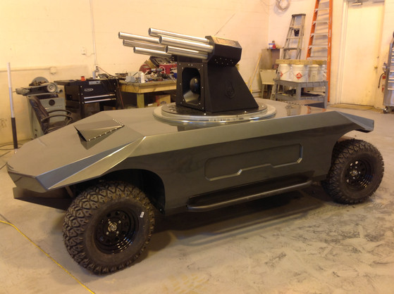 Robotic Armored Vehicle - Naples, Florida - Rogue Gator