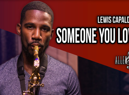 Someone You Loved - Saxophone Cover (Lewis Capaldi)