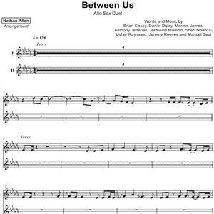dvsn - Between Us - Sheet Music