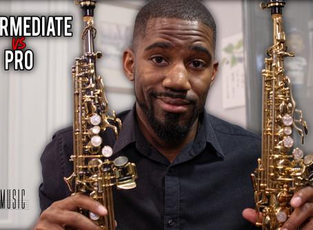 Intermediate Soprano Saxophone VS Professional Sax