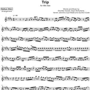 Ella Mai - Trip - Sheet Music