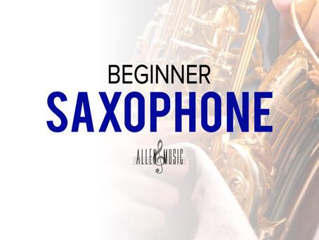 Free Beginner Saxophone Course