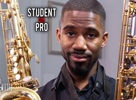 Cheap Student Saxophone VS Professional Saxophone