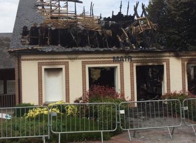 L'incendie de la Mairie de Brétigny
