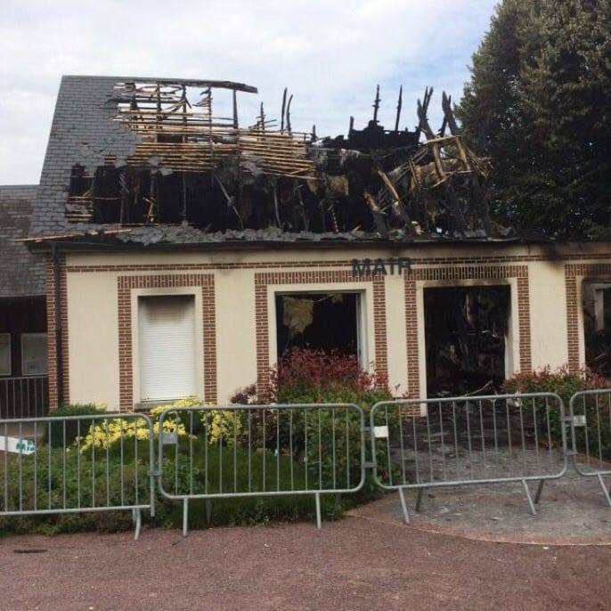 Incendie - Mairie de Brétigny