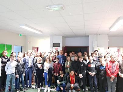 Visite du collège du Hamelet