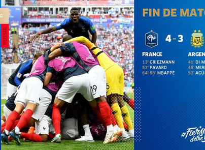 Qualification en quart de finale de la France 🇫🇷