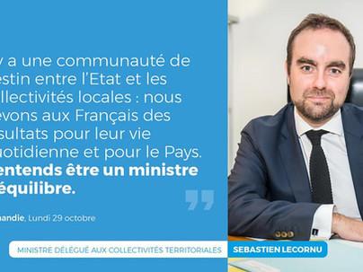 Sébastien Lecornu veut être le ministre du « parler vrai »