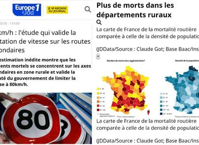 80km/h : une avancée pour la sécurité routière