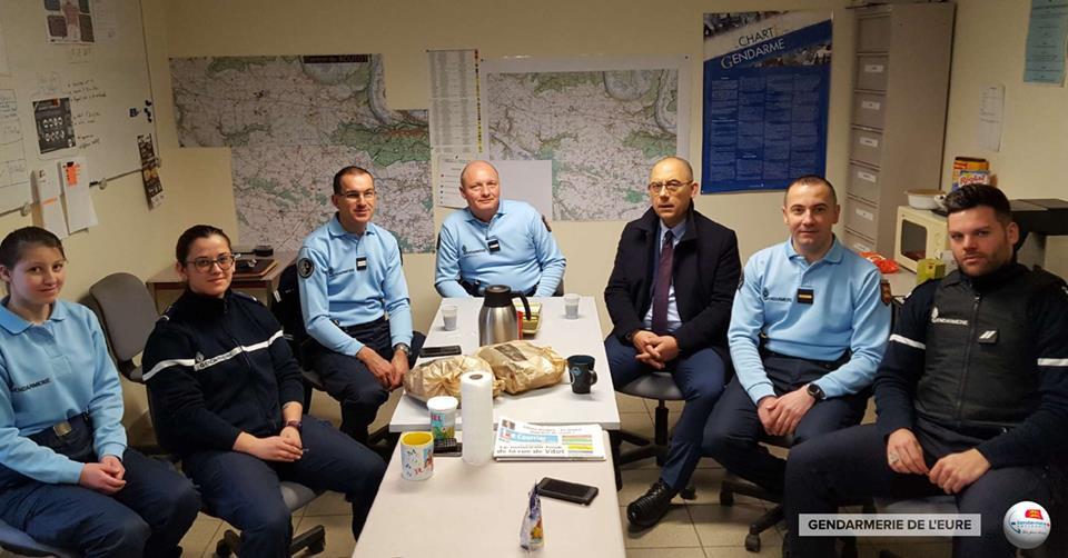 Brigade de gendarmerie de l'Eure