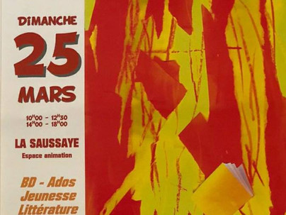 9e salon du livre de la Saussaye