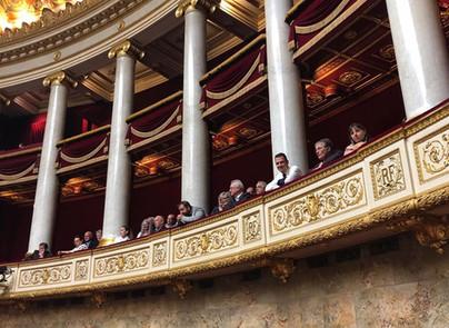 Visite de l'Assemblée Nationale avec les élus de Grand Bourgtheroulde et ses environs