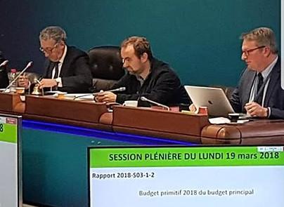 Vote du budget primitif au département de l'Eure