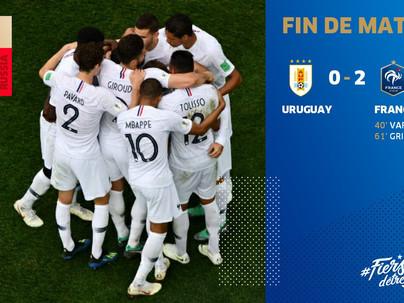 France vs Uruguay
