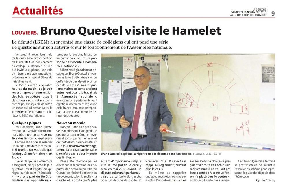 Visite du Hamelet