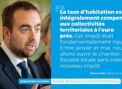 Sébastien Lecornu - Ministre aux collectivités territoriales