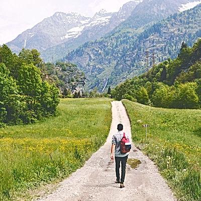 Jouw pad volgen, jouw levenreis bewandelen