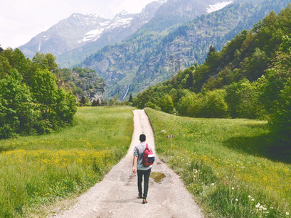 Notre chemin se dessine avec Mère Nature