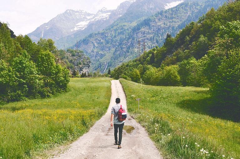 wandernde Reisenden