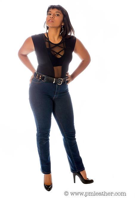 Nisha in Classic Hobble Belt.jpg