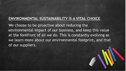 Environmental Sustainability Is a Vital