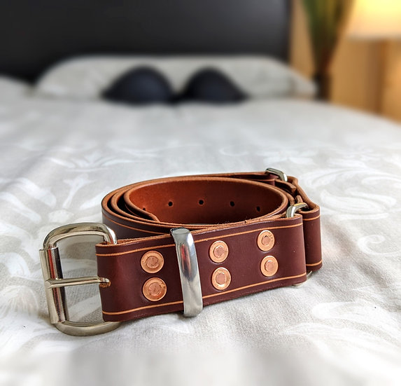 """Grizzly Hobble Belt 1.5"""" (38mm) Wide"""