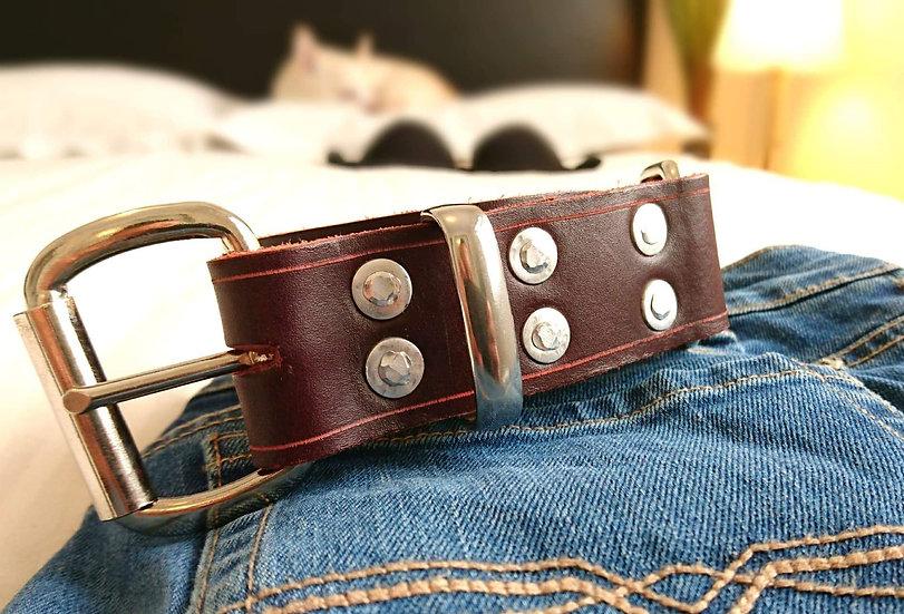 Bordeaux Hobble Belt