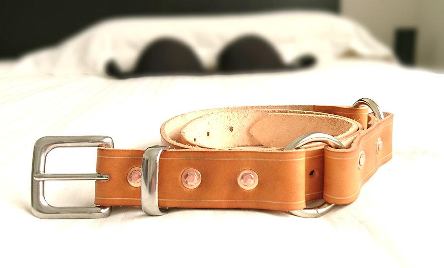 """Honey Hobble Belt 1.25"""" (32mm) wide."""