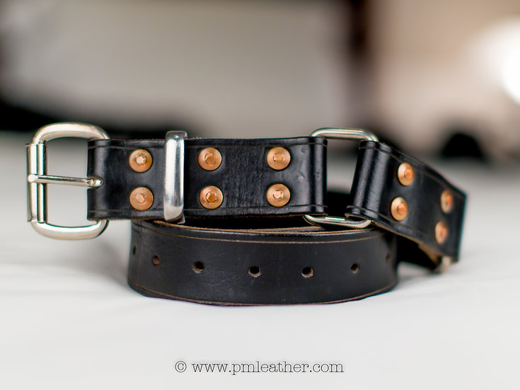"Classic Hobble Belt 1.5"" (38mm) wide."