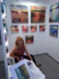 Magdalena Morey at Malaga Art Fair 2017