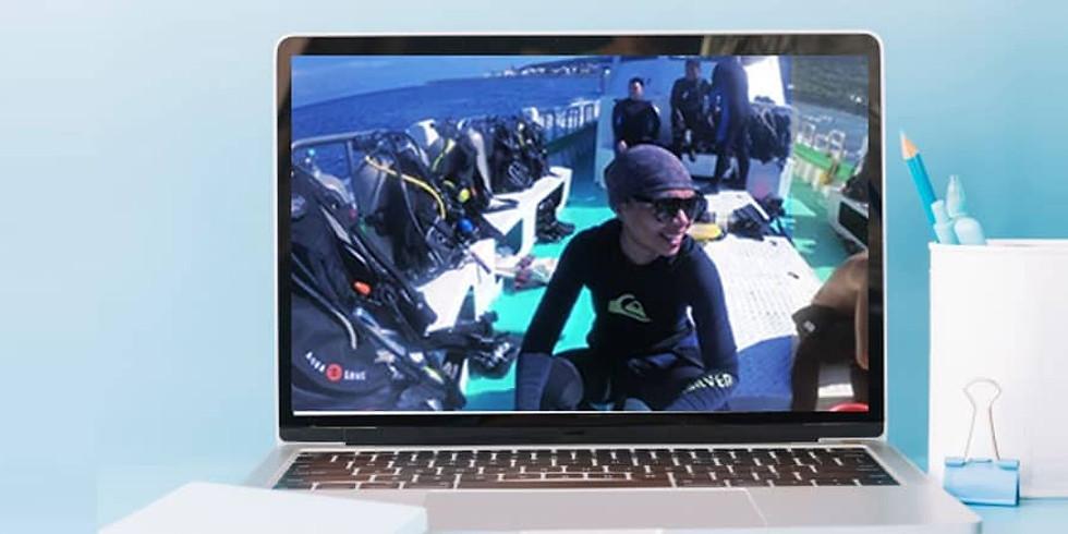 Online Talk: Scuba Diving in Taiwan
