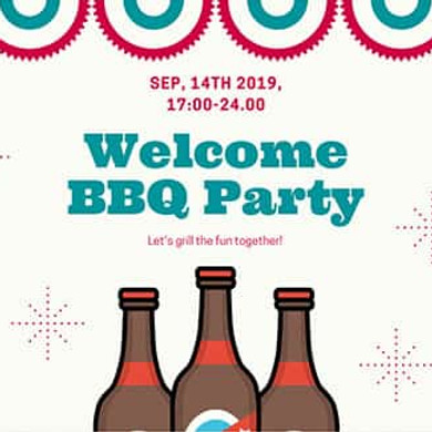 Welcome BBQ Party