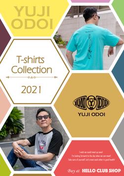 YUJI ODOI T-shirts  Collection 2021
