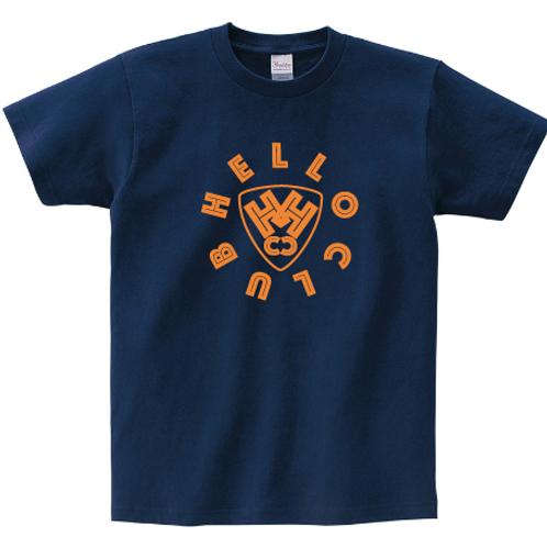 【期間限定・受注生産】HELLO CLUB カラーTシャツ(メトロブルー)