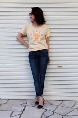 HELLO CLUB カラーTシャツ