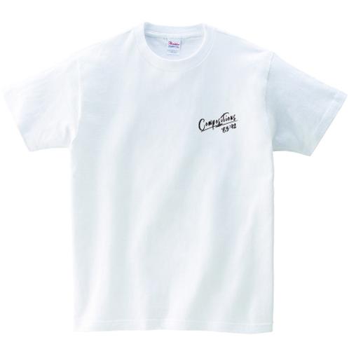 【期間限定・受注生産】Heart is GUN Tシャツ(ホワイト)
