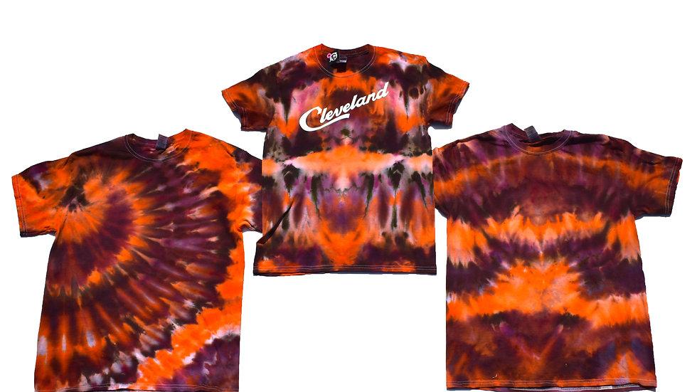 Orange & Brown T-Shirt