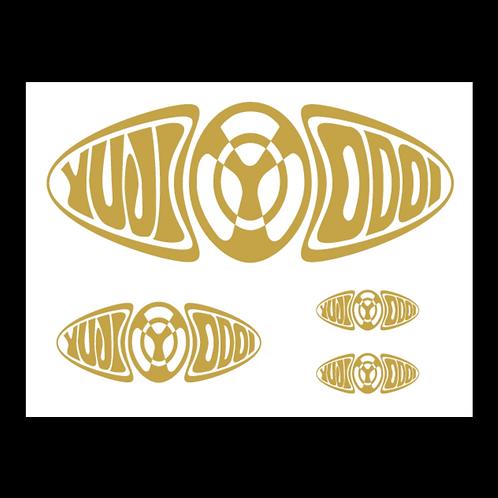 ODOI LOGO カッティングシート(ゴールド)
