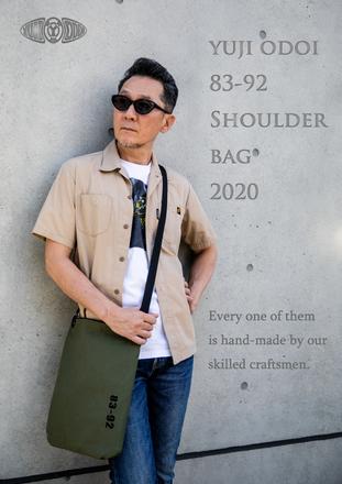 YUJI ODOI 83-92 SHOULDER BAG 2020