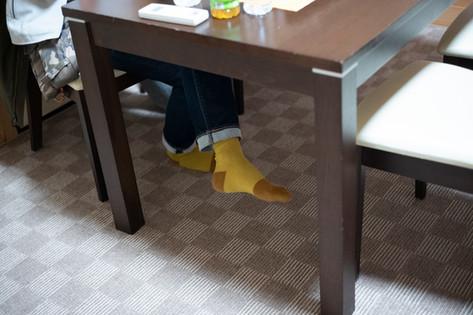 今日も可愛い靴下