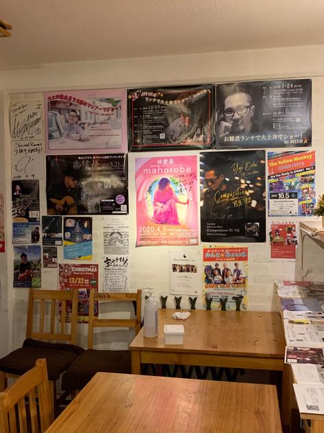会場には沢山のポスター