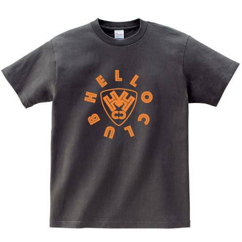 【期間限定・受注生産】HELLO CLUB カラーTシャツ(チャコール)