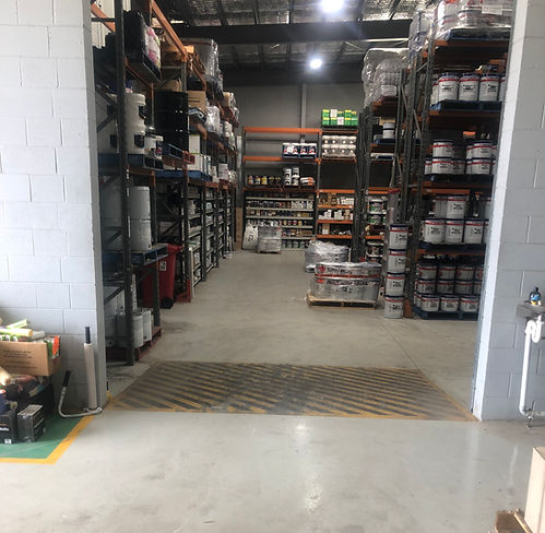 Inspirations Paint CQ Logistics Support