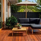 Inspirations Paint CQ Woodcare deck