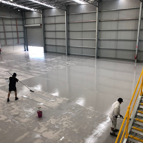 Commercial Application Epoxy Flooring Inspirations Paint CQ