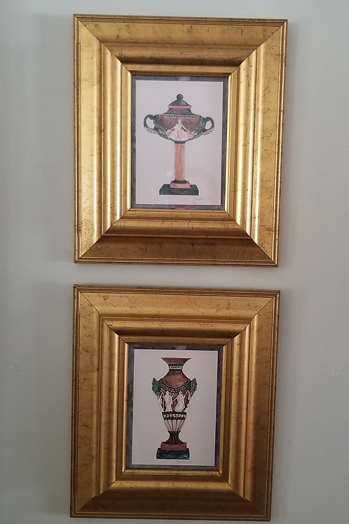 Pair of Framed prints Lot 37